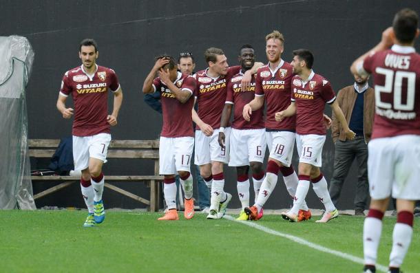 Esulta il Torino al Friuli dopo il 5-1 della passata stagione - Foto Getty Images