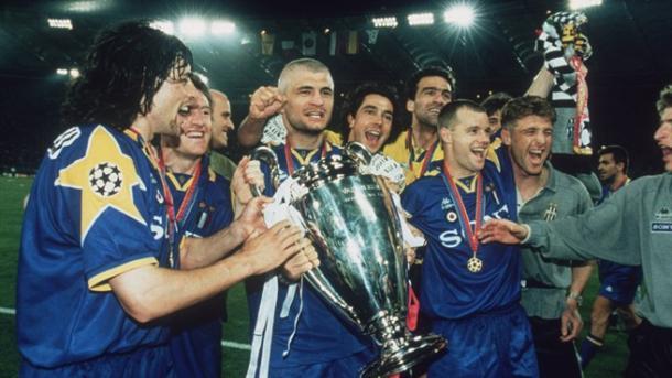 La Juve celebrando la Champions tras vencer al Ajax/ FOTOGRAFÍA: UEFA.com
