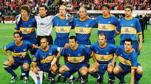 Equipo inicial del Deportivo Alavés, el día de la Final de la Copa de la UEFA del día 16 de Mayo de 2001, en Dortmund. Fuente: deportivo alaves