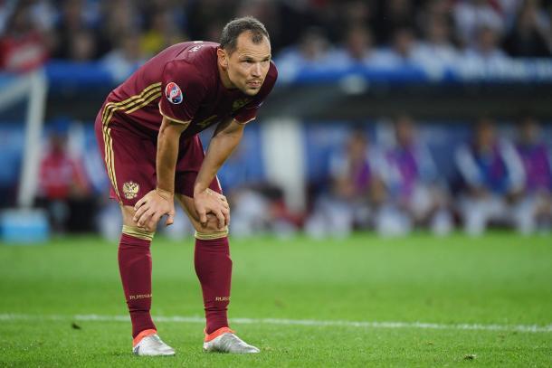 El veterano central está siendo de las figuras rusas en el Mundial | Foto: @UEFAcom_es