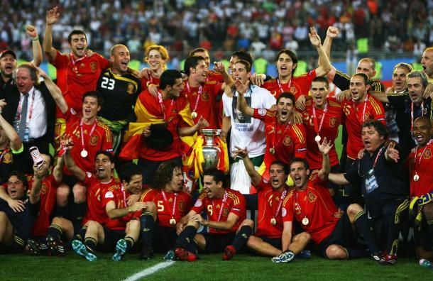 España campeona de la Euro 2008 | Foto: @UEFAEURO