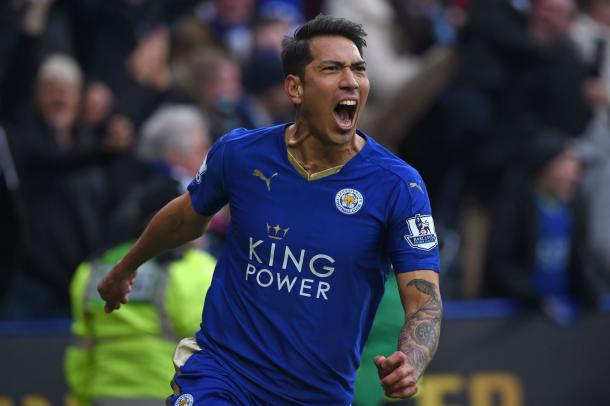 Ranieri was happy with the impact of two-goal man Leonardo Ulloa | Photo: Getty