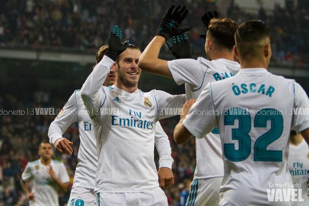 El Real Madrid celebra el empate a dos ante el Fuenlabrada/Foto: Vavel (Daniel Nieto)