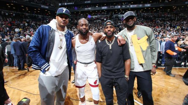 El último baile de Wade   @NBA