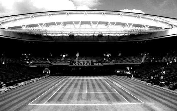 Vacío, así estará el complejo que alberga a Wimbledon, por este 2020. Imagen: tennisworldes.com