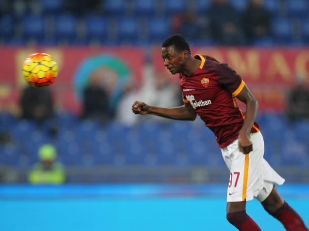 Sadiq powers a header home against Genoa | Photo: ibtimes.co.uk