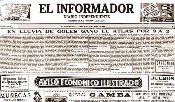 América 2-9 Atlas | Foto: El Informador - Diario Independiente