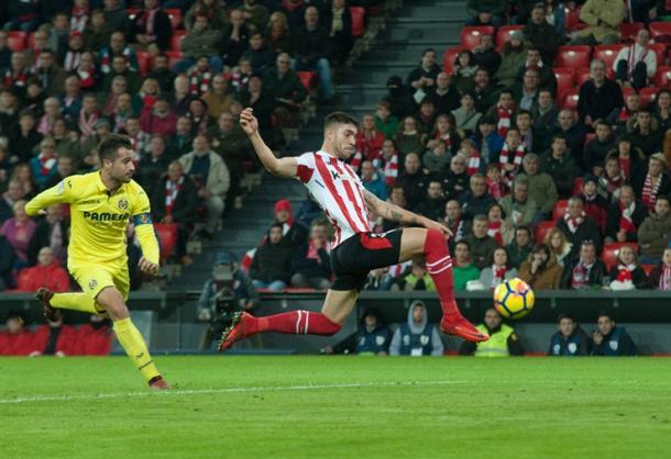 Unai Núñez en el último partido liguero ante el Villarreal I Foto: Athletic Club