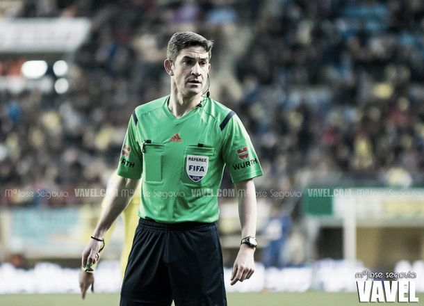 Undiano Mallenco de despide del arbitraje | Foto: Mª José Segovia - VAVEL