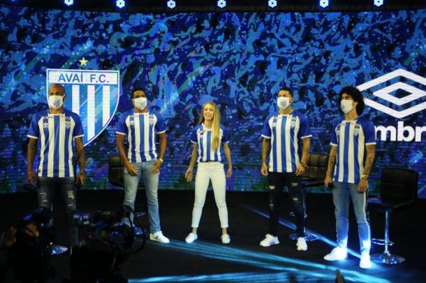 Jogadores participaram do evento (Foto: Roberto Zacarias/Avaí FC)