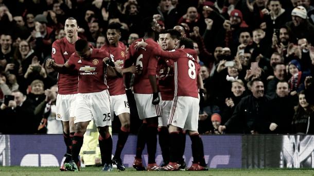 El Manchester United buscará una nueva victoria que le consolide en la segunda posición./ Foto: Premier League