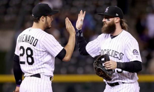 Arenado and Blackmon have had two of the best seasons in franchise history/Photo: Matthew Stockman/Getty Images