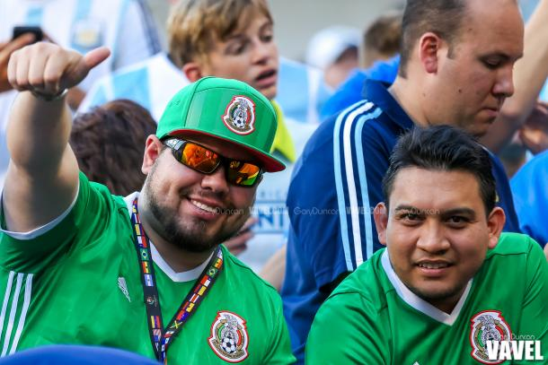 Pregame pictures of the crowd before COPA Centenario 2016 match between Argentina and Panama at Soldier Field in Chicago, IL on Friday June 10th, 2016