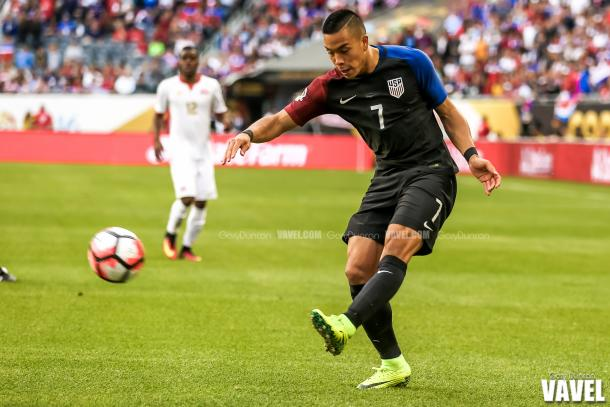 Bobby Wood put in a terrific performance on Tuesday night. (Photo credit: Gary Duncan/VAVEL USA)
