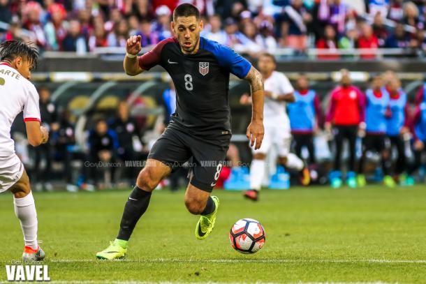 The United States will need Clint Dempsey to continue his stellar form that he has shown in the tournament thus far with three goals