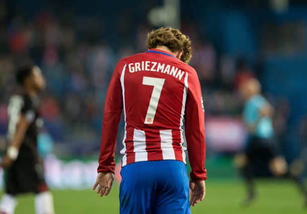 Uno sconsolato Antoine Griezmann. Foto: The Guardian