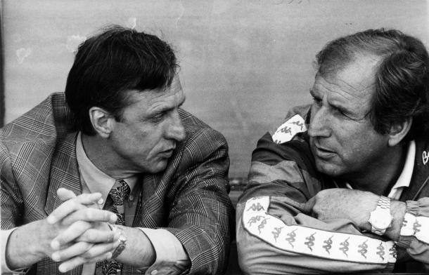 Cruyff y Rexach (foto:ara)