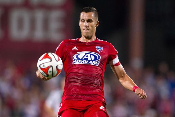 Matt Hedges is just one of the few players that can be brought in to help the demoralized defense of the national team. Photo provided by USA TODAY Sports.