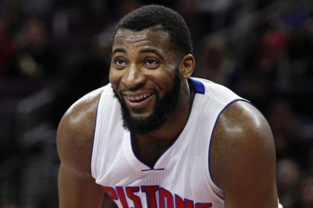 Andre Drummond and the Detroit Pistons are in it for the long run. Photo: Raj Mehta/USA TODAY Sports