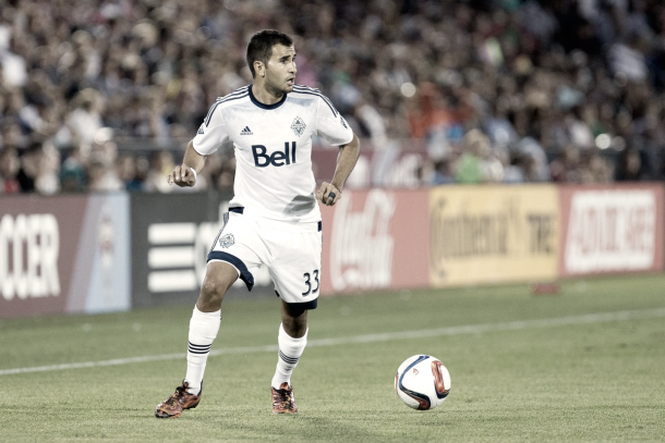 Beitashour with the Vancouver Whitecaps. | Photo: Isaiah J. Downing-USA TODAY Sports