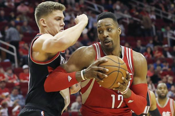 Dwight Howard could be a good fit for the Portland Trail Blazers (Thomas B. Shea-USA TODAY Sports)