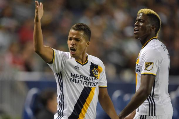 The Los Angeles Galaxy struggled to create chances against Santos Laguna in the two legs. LA was left scoreless in both matches, Photo provided by Kirby Lee-USA TODAY Sports.