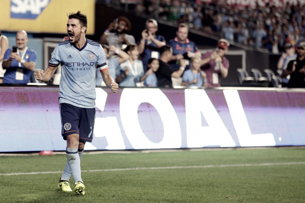 NYCFC hold on to their most important player, David Villa. | Photo: Brad Penner-USA TODAY Sports