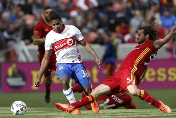 Kyle Beckermann was RSL's best player l Photo: Jeff Swinger - USA TODAY-Sports