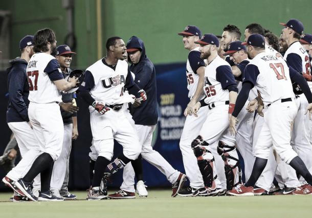 Selección de Usa de béisbol / Foto: WBC Web