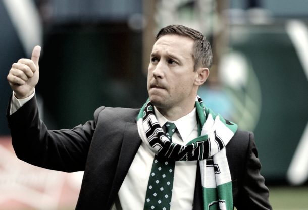 Caleb Porter helped deliver Portland their first ever MLS Cup victory in 2015. | Photo: USA TODAY Sports