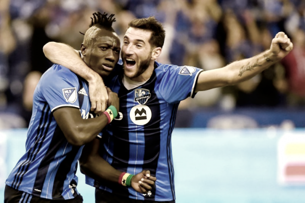 Dominic Oduro will be hoping for another goal against NYCFC. | Photo: Dan Hamilton/USA TODAY Sports
