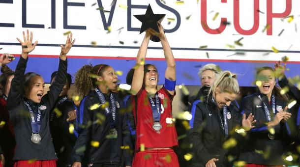 The USWNT won the competition last year | Source: si.com
