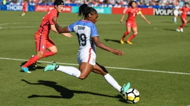 Crystal is returning to the NWSL to play for the North Carolina Courage | Photo: wralsportsfan.com