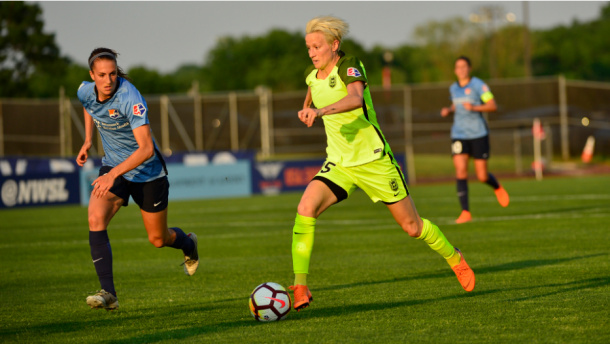 Seattle's Megan Rapinoe has scored five goals this season. | Photo: Howard C. Smith - isiphotos.com
