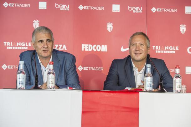 En la imagen, Vadim y Cordón / Fuente: AS MÓNACO