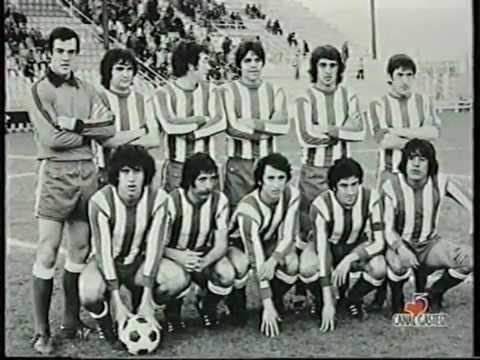 Uno de los primeros partidos de Valdano, con la camiseta albiazul. Fuente: youtube.com