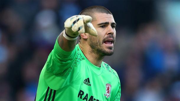 El portero en su última temporada cómo profesional en Middlesbrough / Foto: Middlesbrough FC
