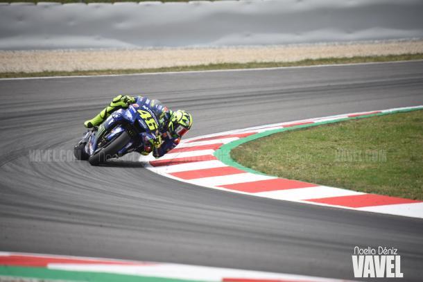 Valentino en el GP de Ctaluña. Foto: Noelia Déniz- VAVEL