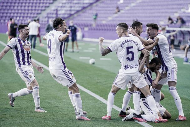 Victoria del Valladolid ante el Alavés./ Foto: Real Valladolid