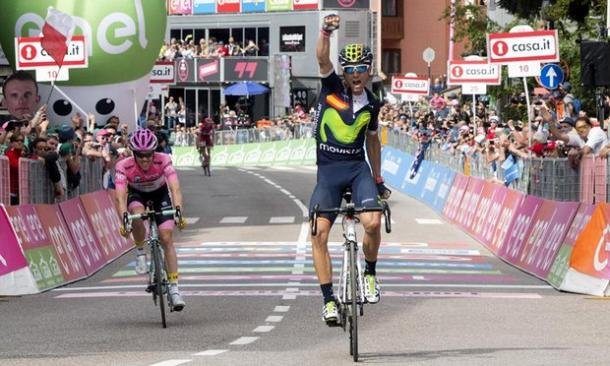 Valverde wins Stage 16 / The Guardian