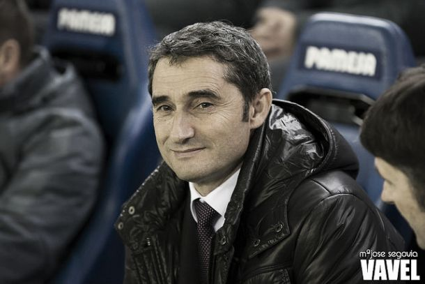 Ernesto Valverde en un partido | Imagen: María José Segovia - VAVEL