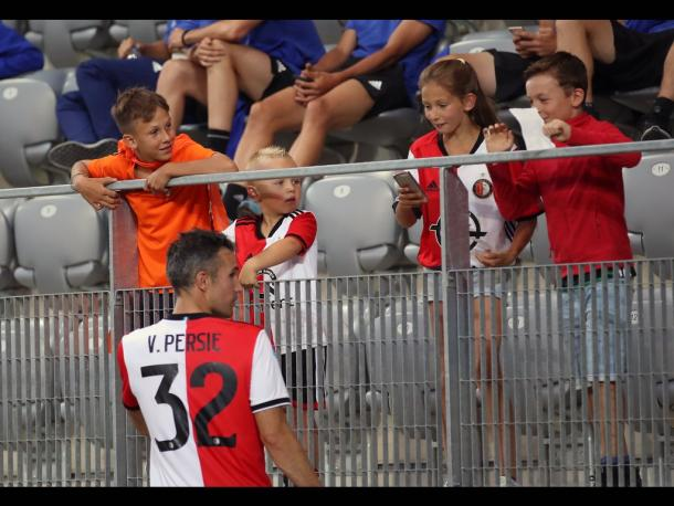 Robin van Persie, ante la que puede ser su ultima temporada como profesional (Foto: feyenoord.com)