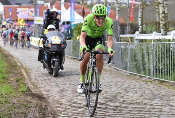 Dylan van Baarle quiere seguir con su progresión. | Foto: Tim De Waele