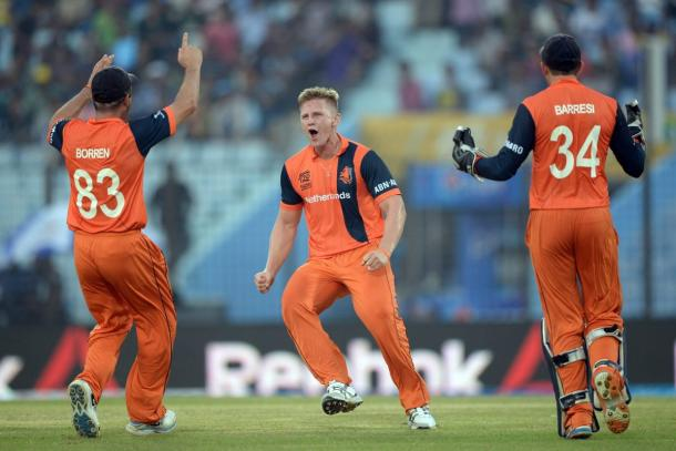 van der Gugten was the pick of the Dutch attack (Getty Images)