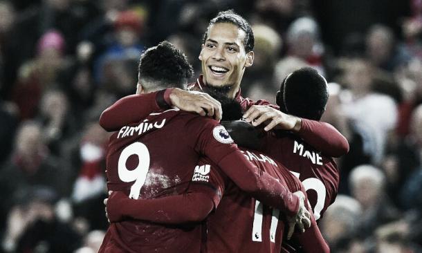 Chegada de Van Dijk e grande fase do trio ofensivo é fundamental para fase do Liverpool (Reprodução /Liverpool)