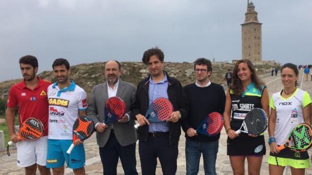 Presentación del WPT A Coruña 2016 | Foto: Worldpadeltout.com