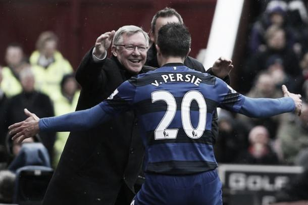 Van Persie's signing was Sir Alex's final masterstroke. (Getty Images)