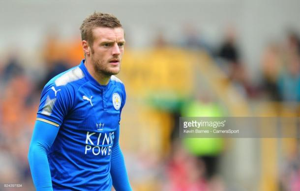 Jamie Vardy could prove crucial to the Foxes' chances of success again this season | Photo: Getty/ Kevin Barnes - CameraSport