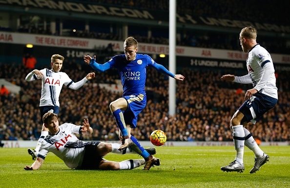 Tottenham are hoping to stop Vardy and co in their tracks (photo: Getty Images)