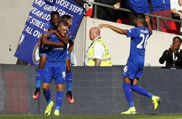 Will Jamie Vardy still be Claudio Ranieri's first choice striker? (photo: Getty)